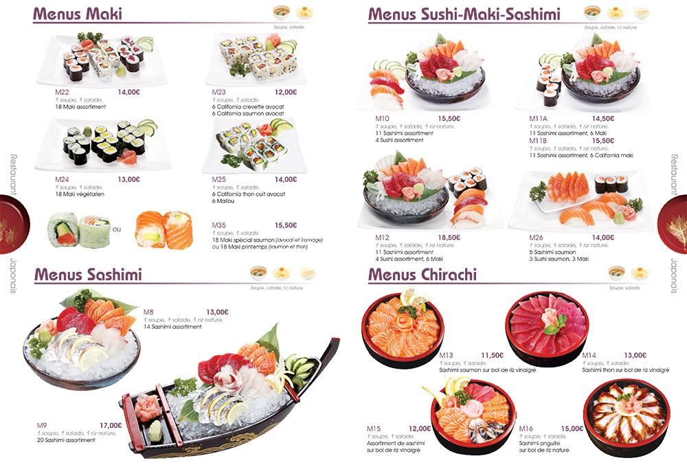 Livraison Restaurant Japonais